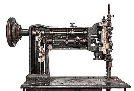Lederwerkstatt Nähmaschine